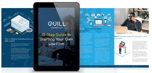 Quill 15 Step Guide to Starting Your Own Law Firm Dystopia Ebook Series Cover