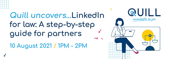 LinkedIn for law webinar by Quill